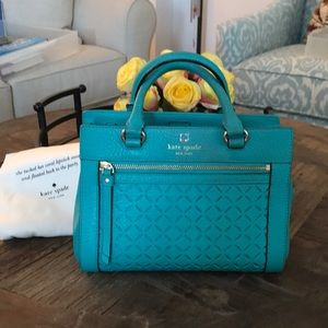 Kate Spade Perri Lane Romy Satchel Crossbody Purse
